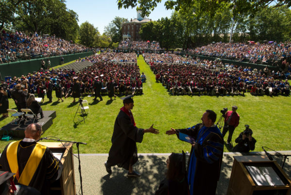 Linfield College Commencement